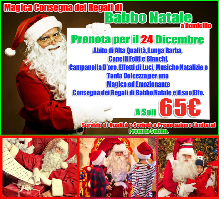 Babbo Natale A Casa Dei Bambini.Wonderland Animazione Per Bambini Napoli Benevento Avellino